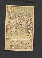 Randolph Caldecott Nursery Rhyme Postcard Knave of Hearts Returned The Tarts