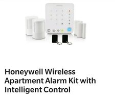 Whole Honeywell Wireless Apartment Alarm Kit with Intelligent Control.Easy fit.