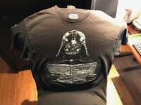 Star Wars Darth Vader Dark Side Empire Adult Graphic Tee T shirt Young Men's Med