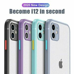 iPhone 11 Pro/Max/XR/XS/8/7 Plus Shockproof Case Clear Silicone Heavy Duty Cover