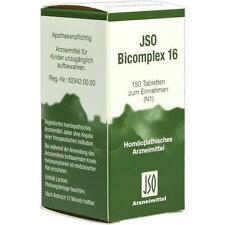 JSO BICOMPLEX HEILM NR 16 Tabletten 150St ISO ARZNEIMIT