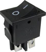 LCD TV Mains Power On Off Rocker Switch 4 Pin-240V 10A DPST Technika LG etc