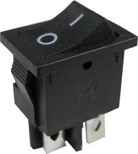 LCD TV Mains Power On Off Rocker Switch- 4 or 2 Pin-Technika LG 6A 240V 10A 125V