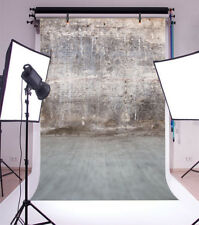 Old gray Concrete Wall Photo Backdrop 6.5x10' Background Studio Photography Prop