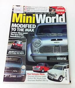 Mini World Magazine October 2010 - Mini Minor Cooper Rover Rally