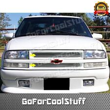 FOR CHEVY 1998~01 02 03 04 S-10 STEPSIDE UPPER REPLACEMENT BILLET GRILLE INSERT