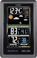 La Crosse Technology S88907 Vertical Wireless Color Forecast Station with Tem...
