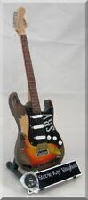 STEVIE RAY VAUGHAN  Miniature Guitar SRV w/ Guitar Pick