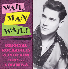 The Riptides + / Wail Man Wail! Original Rockabilly & Chicken Bop V.3 - HC12003