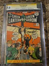"""Green Lantern #89 CGC SS 7.0 """"JESUS"""" Cover. SIGNED by cover artist Neal Adams"""