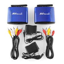 New 5.8GHz AV Wireless Transmitter Receiver Sender TV Audio Video 200m #
