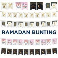Ramadan Mubarak Bunting - Silver Black Gold Floral - Ramadan Decorations - AG 21