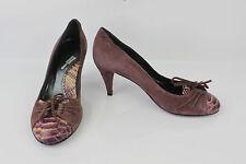 Zapatos MAGOBLAN En Piel Ante Ciruela Claro T 36,5 BE