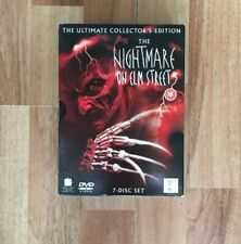 The Nightmare On Elm Street( 7 Disc Dvd Set Ultimate  Collector's Edition)