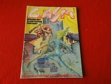 Vintage Science Fiction Fantasy Comic Book Magazine Gasm Feb. 1978 5