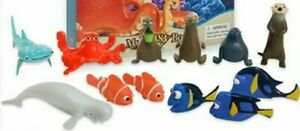 Finding Dory  CAKE TOPPERS 12 PLASTIC FIGURES UK STOCK BRAND NEW