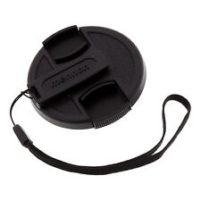 Mennon 49mm Snap-on Lens Cap with Strap and Belt Clip