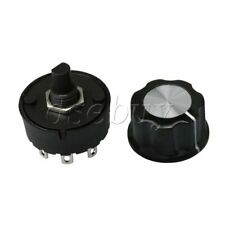 3 Positions Selector Rotary Position Switch & Knob for Small Home Appliance