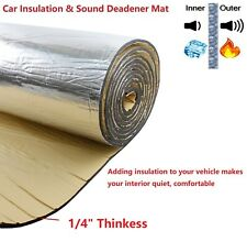 Thermal Sound Deadening Noise Insulation, Car Heat Insulation Material 1/4
