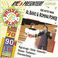AL BANO & ROMINA POWER (De Hits Van, RTL4 Presenteert Prijzenslag, HOLLAND CD)