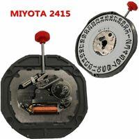MIYOTA 2415 Movimiento de Reloj Cuarzo 3-Pin 3/6mm Calibre Recambio +Batería 377