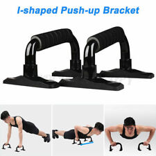 Push Up Bars Metal 2 Pieces Steel Pair Push up Stands Gym in Home Exercise Fit