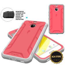 Case For HTC Bolt (2016) Hybrid Shockproof Drop Protective Cover Pink