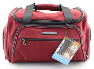 BRIGGS & RILEY 'Transcend' Crimson Red Nylon Cabin Duffel Bag - TD340-40