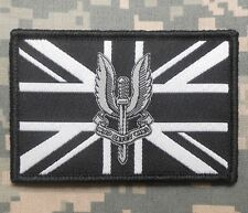 SAS SPECIAL AIR SERVICE UNION FLAG AFGHANISTAN SWAT OPS VELCRO® BRAND PATCH