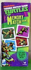 Nickelodeon Memory Match Game Teenage Mutant Ninja Turtles TMNT NEW NIB