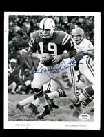 Johnny Unitas PSA DNA Coa Hand Signed Vintage 8x10 Photo Autograph