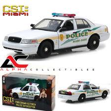"""GREENLIGHT 13514 1:18  2003 CROWN VICTORIA POLICE INTERCEPTOR """"CSI MIAMI"""""""