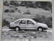 Ford Sierra press photo Sep 1982 German text v8