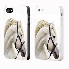 HORSE Pony Black White IPhone 4 4S 5 5S 5C 6 Personalised Hard Cover Case