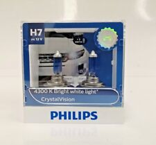 Genuine Philips H7 Crystal Vision 4300K for Volkswagen Golf Jetta Passat