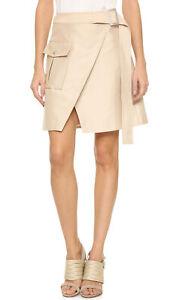 C/MEO COLLECTIVE Size XS White Walls Mini Skirt