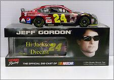 JEFF GORDON 2015 #24 AARP MEMBERS ADVANTAGES NASCAR DIECAST RACE CAR 1/24