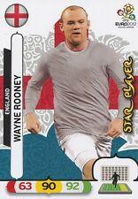 WAYNE ROONEY # STAR PLAYER ENGLAND CARD PANINI ADRENALYN EURO 2012