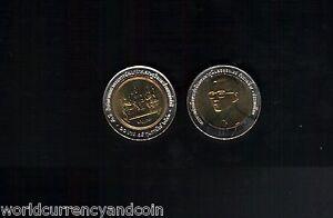 THAILAND 10 BAHT KM-Y371 2000 x 1 BIMETAL UNC KING COMMEMORATIVE MILLENNIUM COIN