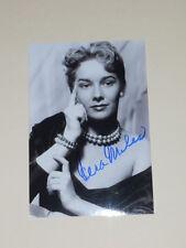 Actress VERA MILES Signed 4x6 PRETTY Photo AUTOGRAPH 1A
