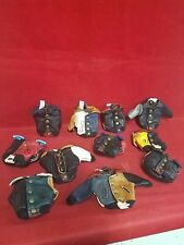 *Lot of 12!  Biker-Dirt Bike Leather Jacket Key Chain-collectible-miniature-doll