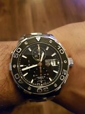 Tag Heuer Aquaracer Chronograph Calibre 16 Automatic, Professional Divers Watch,