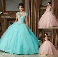 Free Jacket/Princess/Evening/Prom/Pageant/Party/Quinceanera Dress/Dance/Ballgown