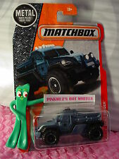 2017 MATCHBOX #67 ROAD RAIDER☆Slate Blue; MILITARY POLICE☆Heroic Rescue☆Case F