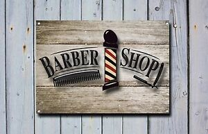 Barber Shop Metal Sign Barber Shop Décor Sign Wall Art Plaques Barber Shop 862