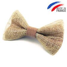 Made in France NOEUD PAPILLON en abaca pour homme ou femme - Men Bowtie