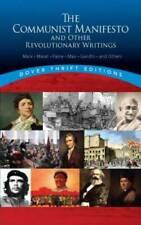 The Communist Manifesto and Other Revolutionary Writings (Dover Thrift Ed - Good