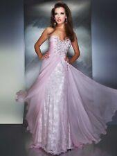 $538 NWT Pretty MacDuggal Mac Duggal Ice Pink Dress 78437M Prom Formal Pageant 4