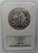 SPECIAL PRICE 2015 AUSTRIA Österreich 1,5 EURO 1 Oz SILBER  SILVER  MS70