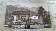 Haus Zufriedenheit Garmisch Partenkirchen AK Postkarte 1232